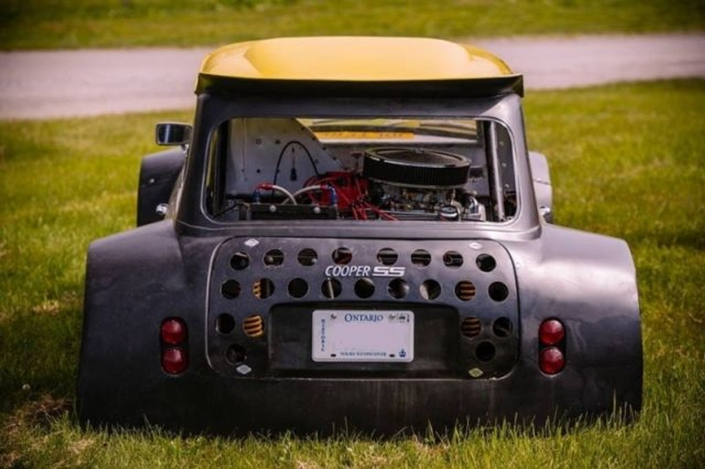For Sale Custom Mini Cooper With A Mid Engine V8 Engine