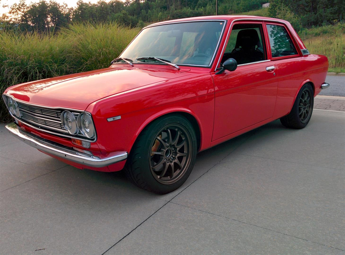 Datsun 510 with a 2.4 L LEA Ecotec inline-four