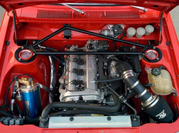 Datsun 510 with a 2.4 L LEA Ecotec inline-four