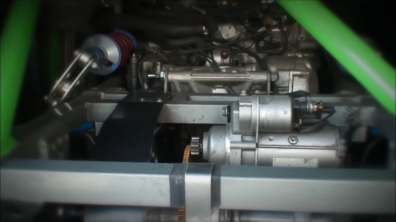 Fiat 500 With A Bmw Motorcycle Engine  U2013 Engine Swap Depot