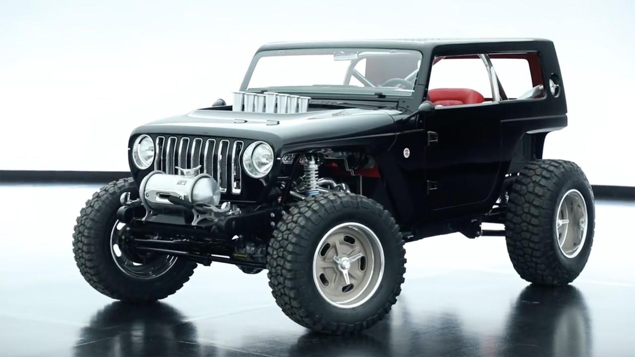 Jeep Quicksand With A 392 Hemi V8 Engine Swap Depot