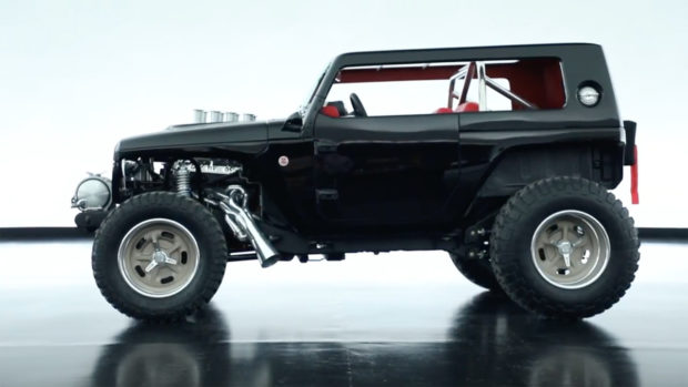 Jeep Wrangler Quicksand with a 392 HEMI V8