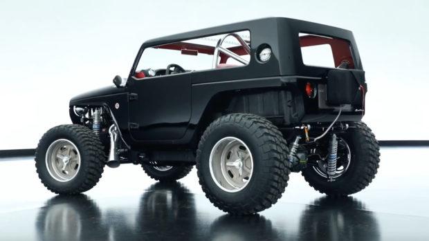 Jeep Wrangler Quicksand with a 392 HEMI V8