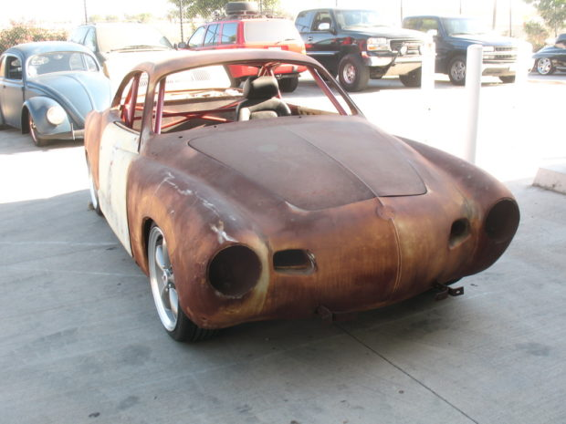 Karmann Ghia with a Subaru EZ30R Flat-Six
