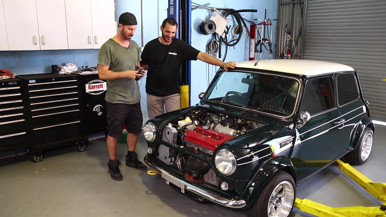 MCM Mini with a B16 – Part 4 – Engine Swap Depot