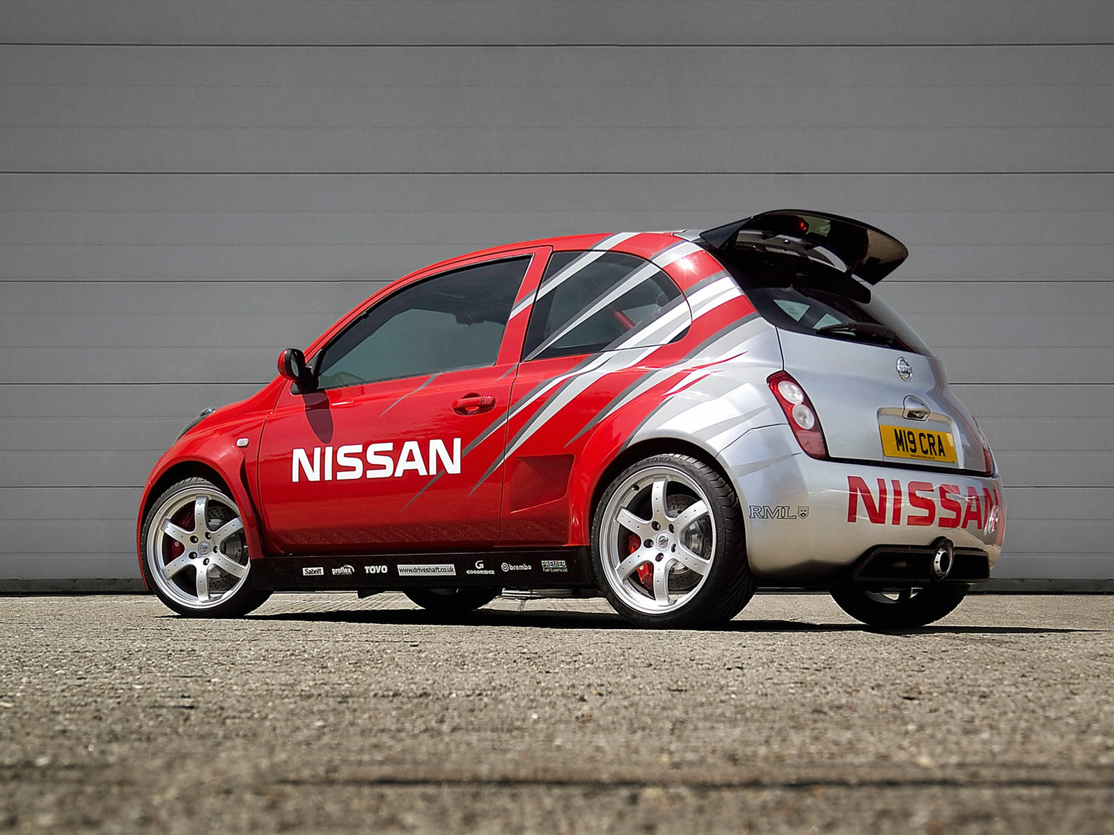 Nissan Micra 350sr With A Vq35 V6 Engine Swap Depot