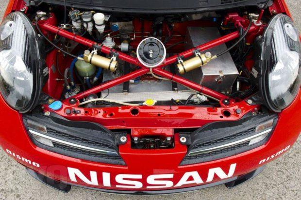 Nissan Micra 350SR with a VQ35 V6