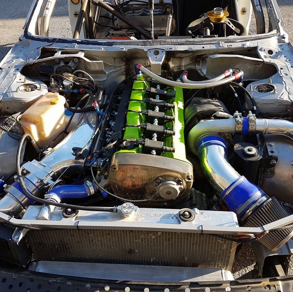 Nissan Pulsar GTI-R with a RB26 and R32 Drivetrain – Engine