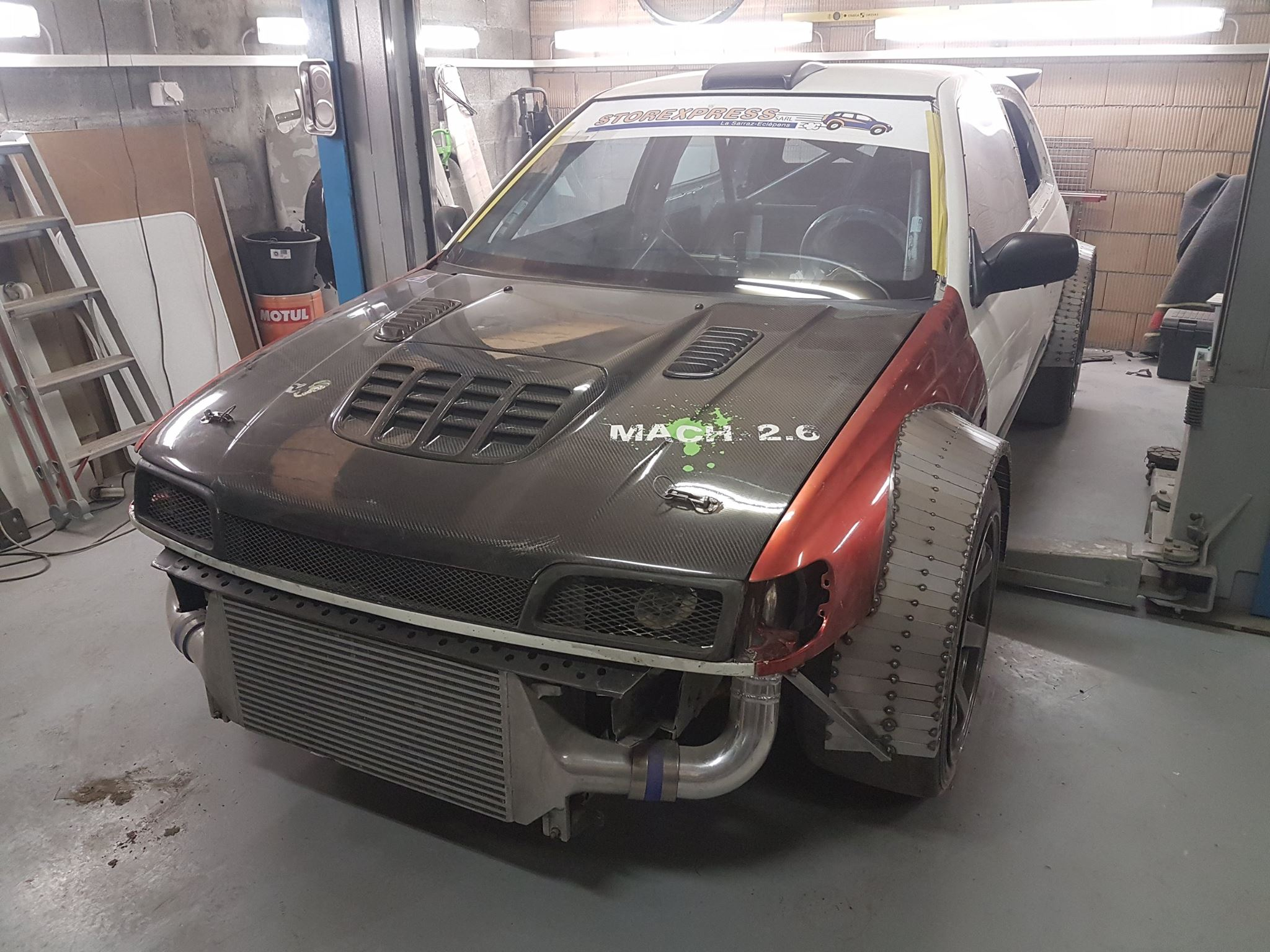 nissan pulsar gti r with a rb26 and r32 drivetrain. Black Bedroom Furniture Sets. Home Design Ideas