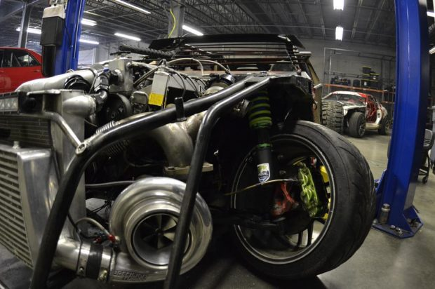 Nissan S13 Deathkart with a turbo Viper V10