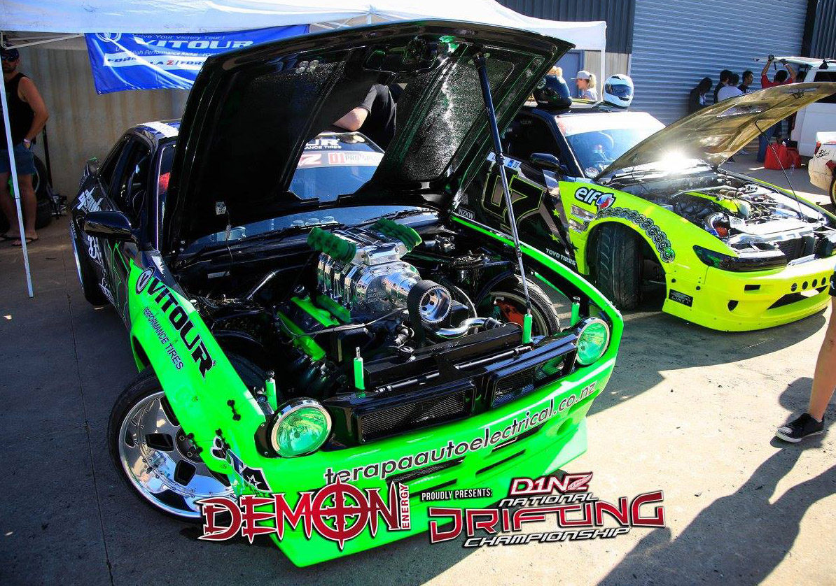 Nissan S13 with a Blown 1UZ V8 – Engine Swap Depot