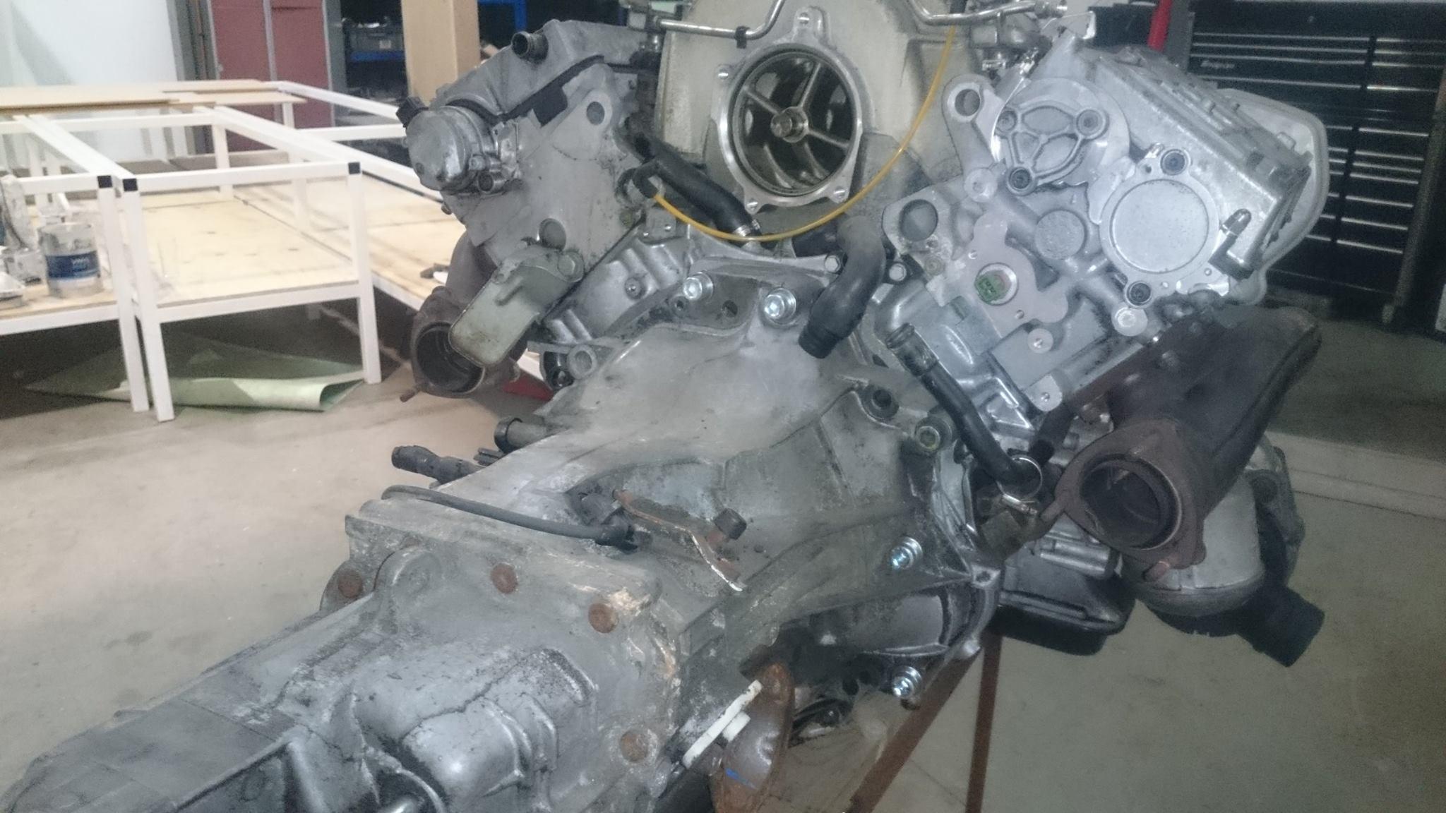 Building A Porsche Boxster With An Audi V8  U2013 Engine Swap Depot