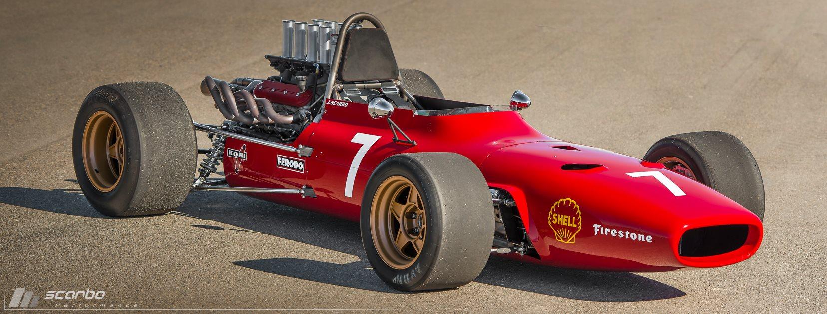 SVF1 Ferrari 312 Replica with a 6.2 L LSx V8