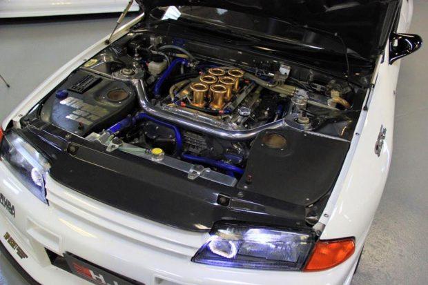 Top Secret Nissan R32 with a VQ32 V6