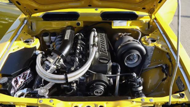 Toyota Corolla KE20 with a Turbo RB30 inline-six