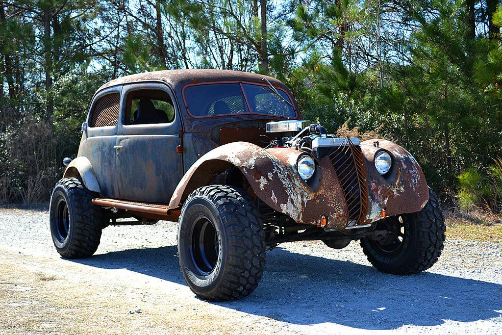 For Sale: 1937 Ford with a Jeep 4WD Powertrain – Engine Swap Depot