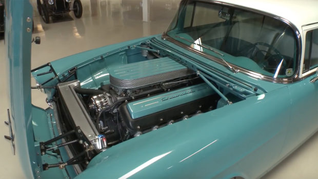 1955 Chevy Bel Air with a V12