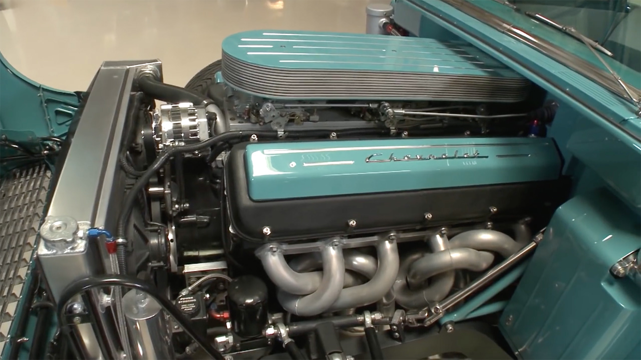 1955 Chevy Bel Air with a V12 – Engine Swap Depot