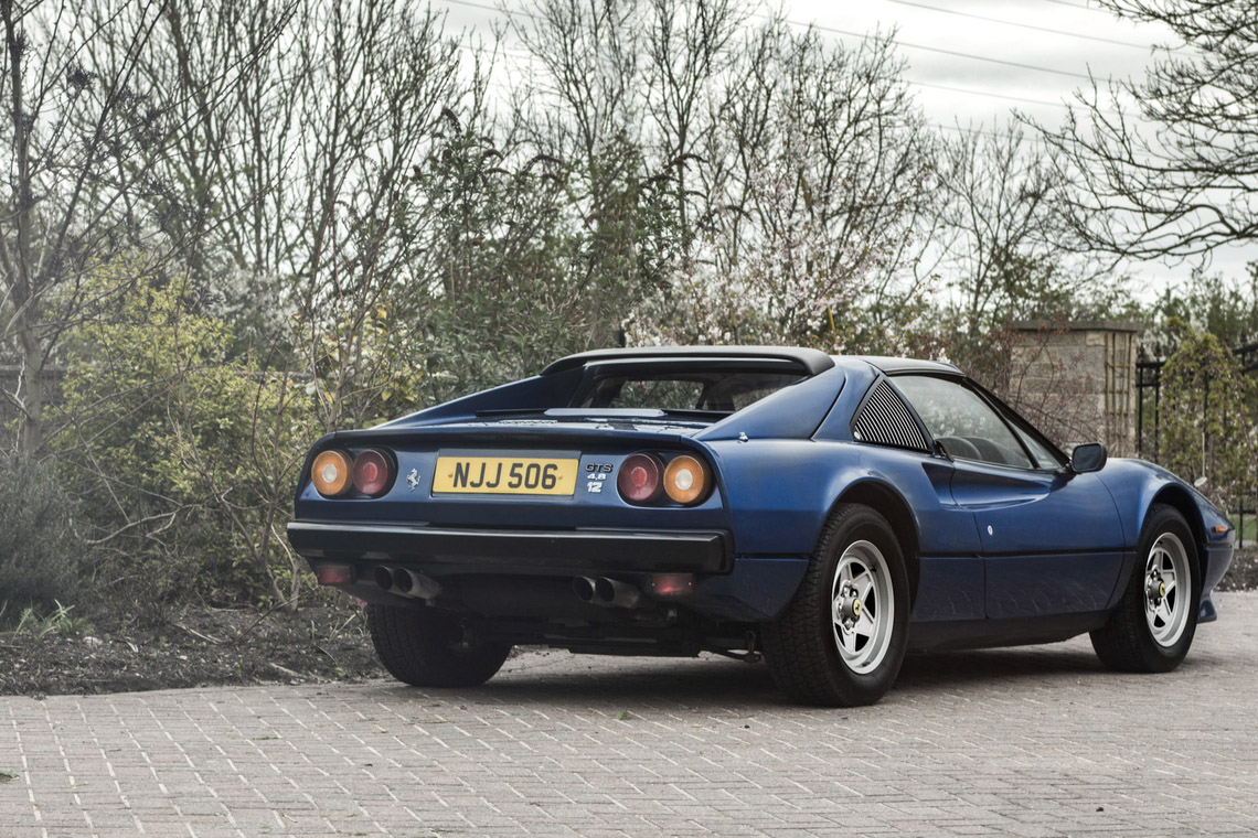 1985 ferrari 308 with a 4 8 l v12 engine swap depot. Black Bedroom Furniture Sets. Home Design Ideas