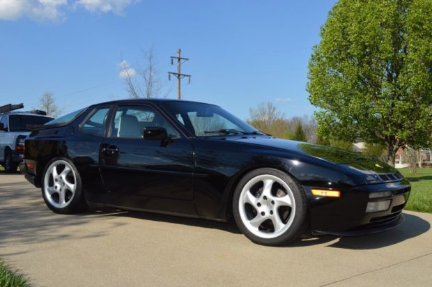 1989 Porsche 944 with a 951 turbo inline-four