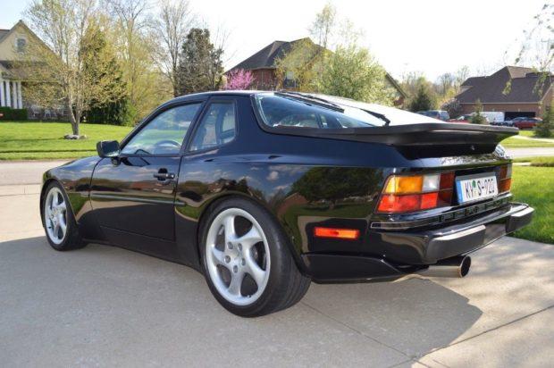 1989 Porsche 944 with a 951 turbo inline-four