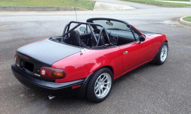 1990 Mazda Miata with a J32 V6