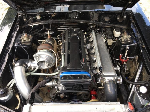 1992 Mustang LX with a turbo 2JZ inline-six