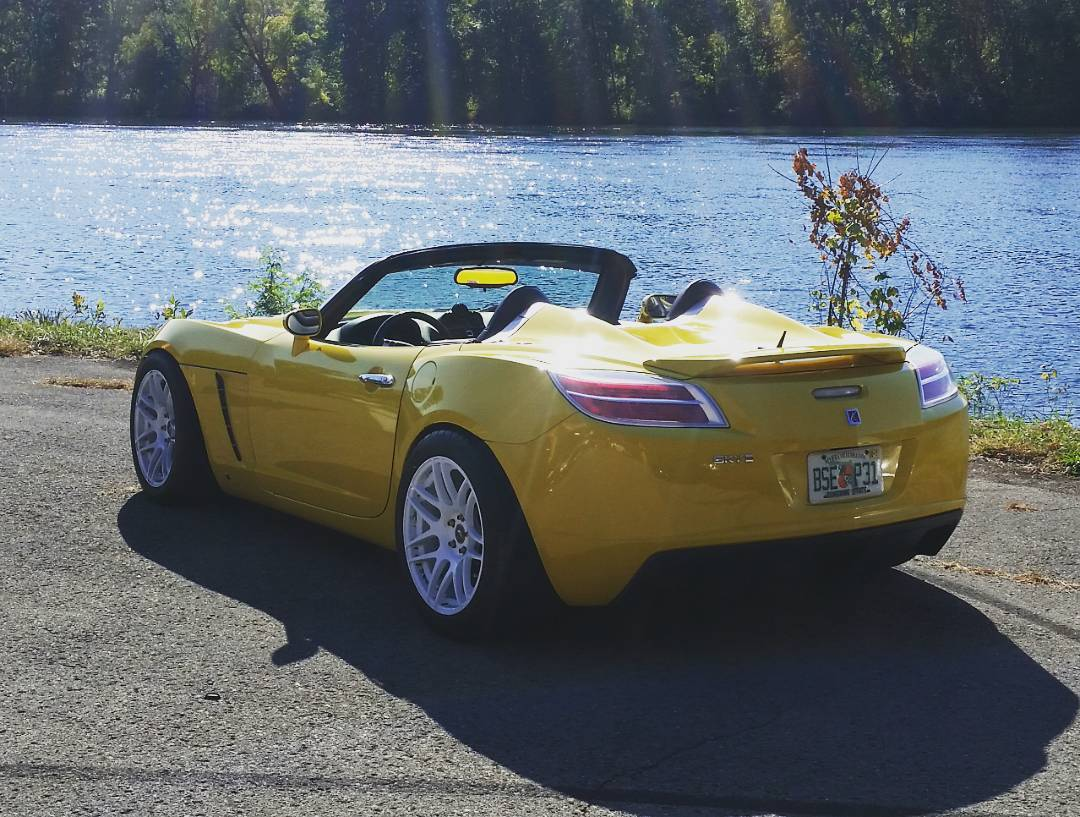 Saturn Sky With A 2jz Gte Engine Swap Depot