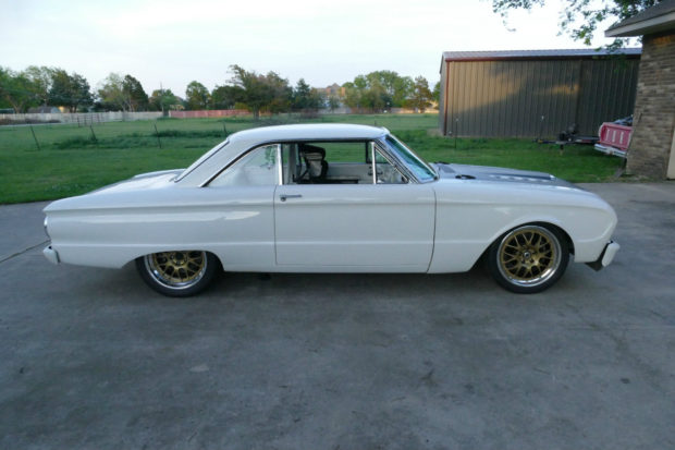 Aaron Kaufman's 1963 Ford Falcon race car