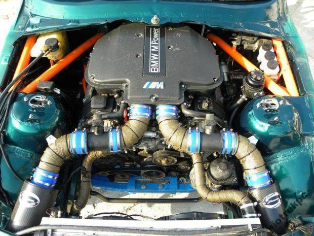 BMW E36 M3 with a S62 V8