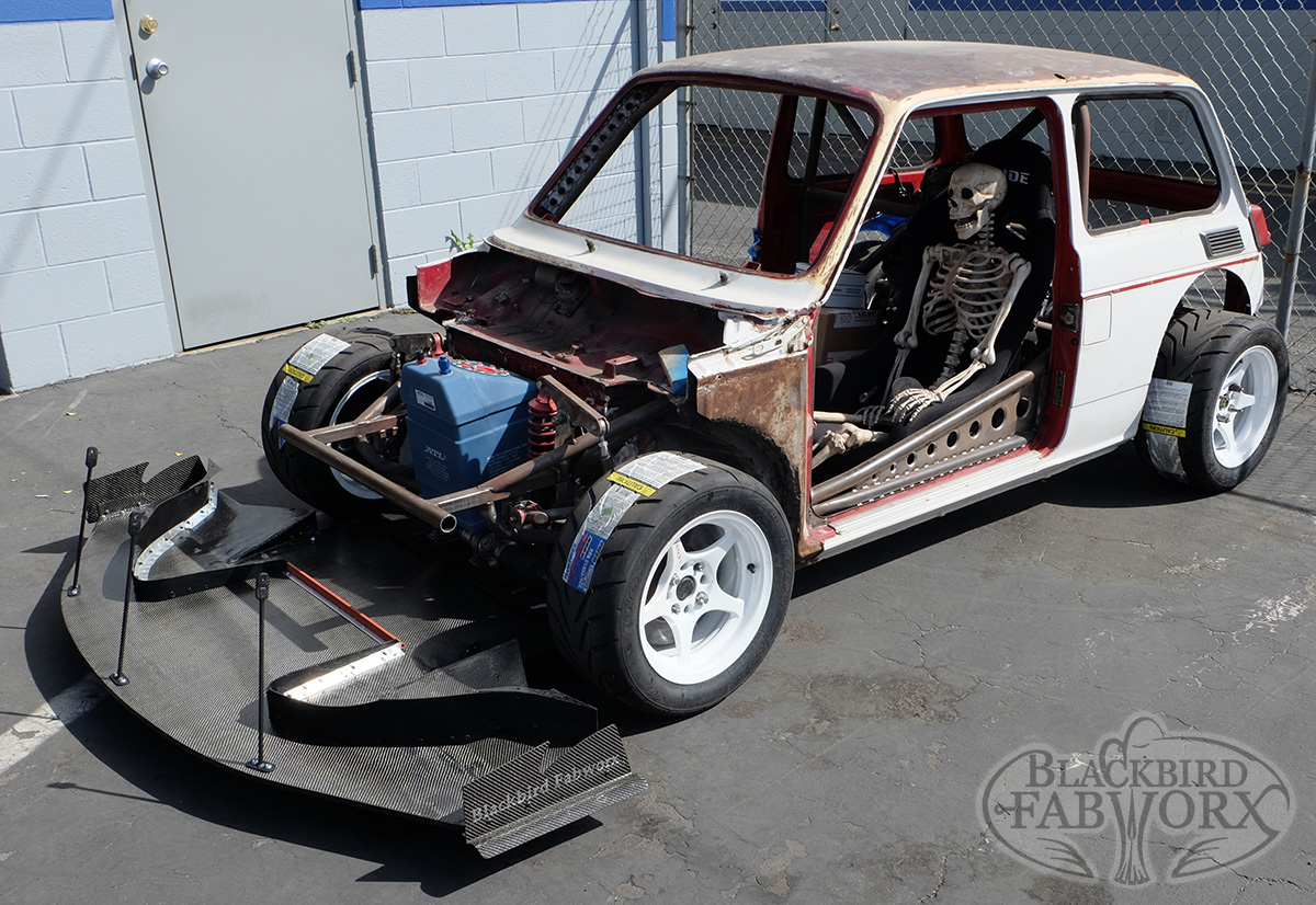 Honda N600 with a Mid-Engine CBR1000RR Inline-Four ...