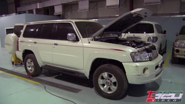 Nissan Patrol with a Quad-Turbo LSx V8