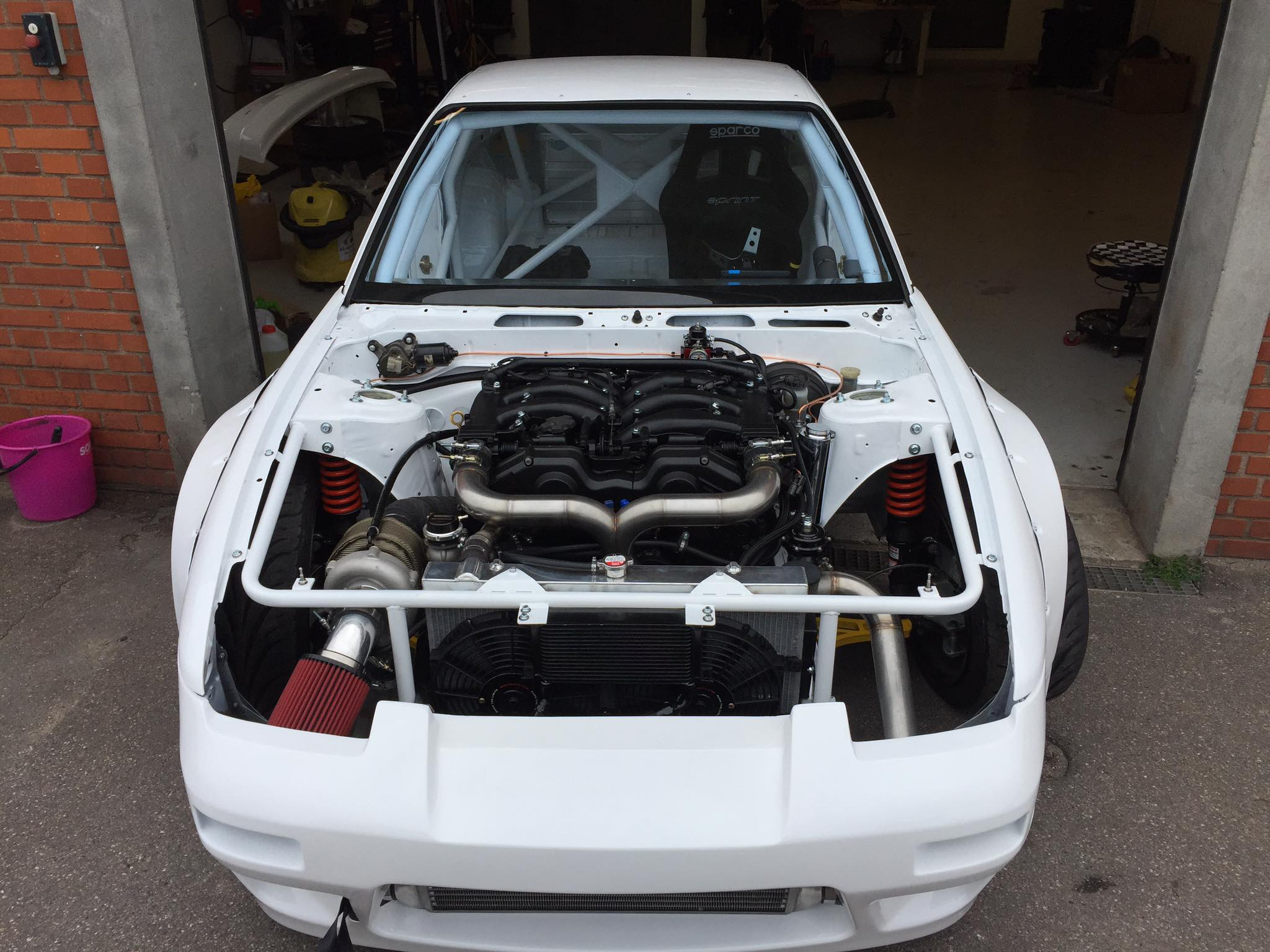 Nissan S13 With A Turbo Vg30 V6  U2013 Engine Swap Depot