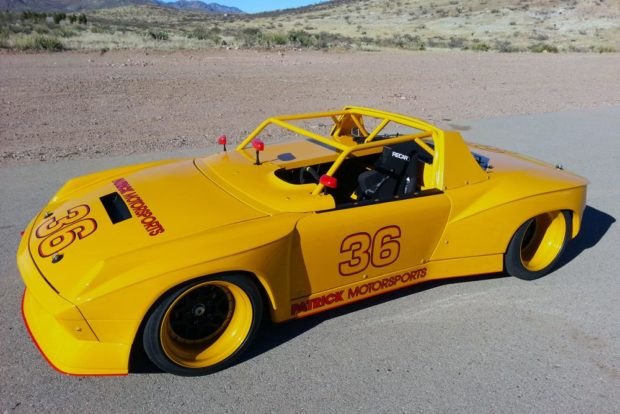 Porsche 914-6 Race Car with a 3.6 L Flat-Six
