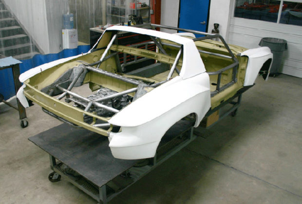 Porsche 914-6 Race Car with a 3.6 L Flat-Six