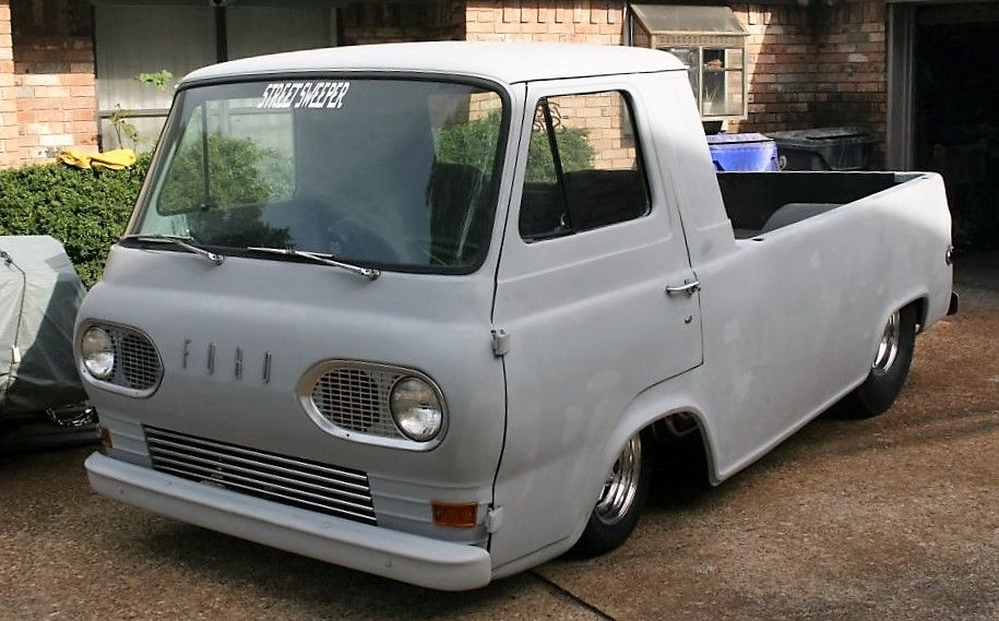Pro-Street 1963 Econoline with a Mid-Engine big-block Chevy V8