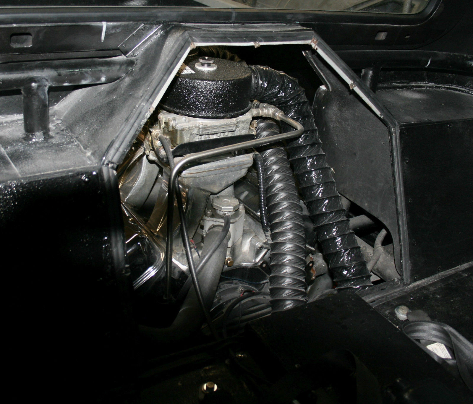 Pro Street Econoline With A Mid Engine Bbc V on Chevy Wiring Harness For In The Bed