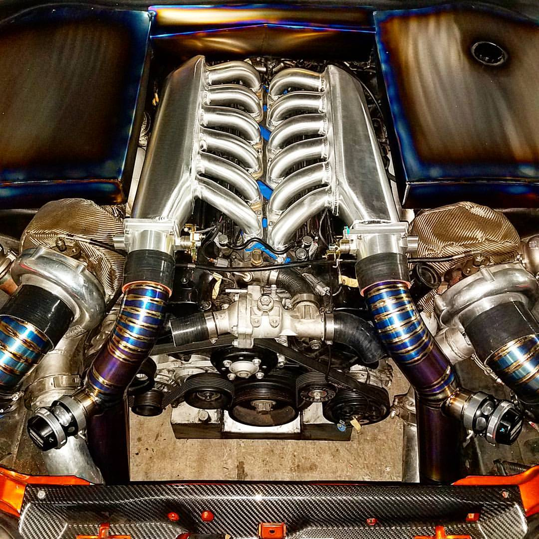 Toyota Supra With A Twin Turbo V12 Update Engine Swap Depot