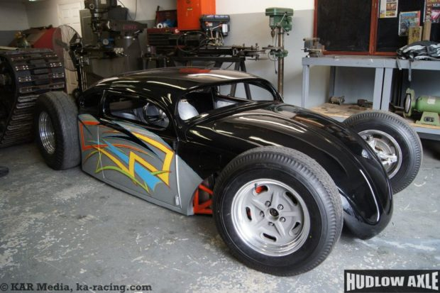 VW Beetle with a GSX-R1000 Motorcycle Inline-Four