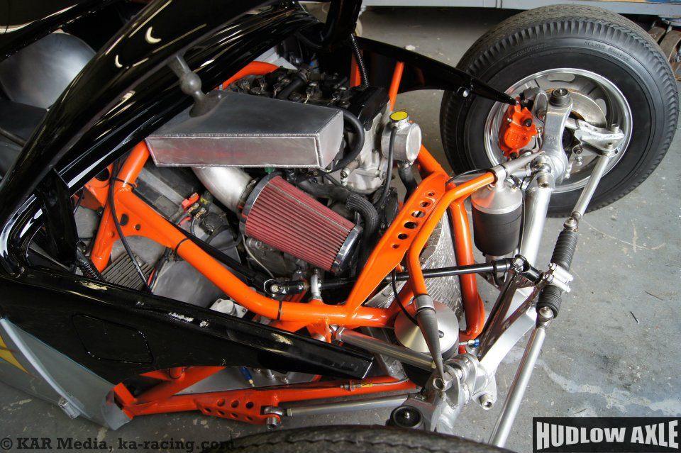 Vw Beetle With A Gsx R Motorcycle Inline Four on Vw Beetle Transmission Swap