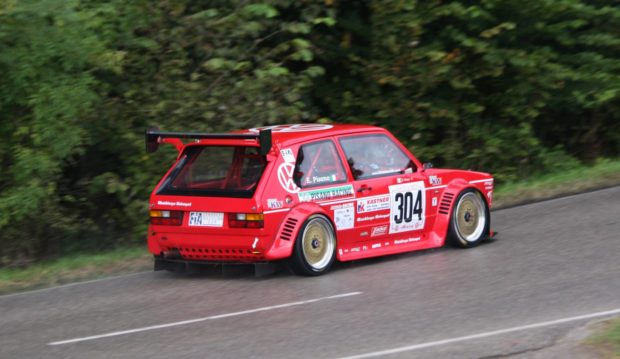 VW Golf with an Audi 2.0 L STW inline-four