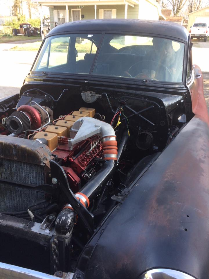 1950 Buick With A Cummins Inline