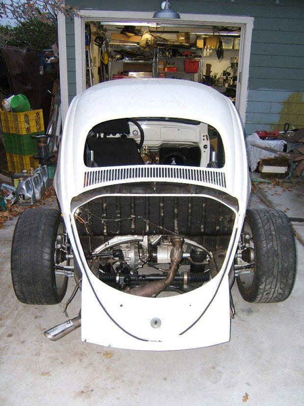 1960 VW Beetle with a Turbo Audi I4