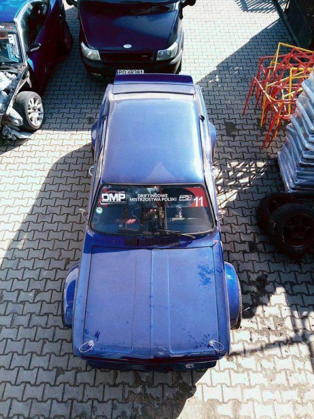 1967 Opel Kadett with a turbo M50 inline-six