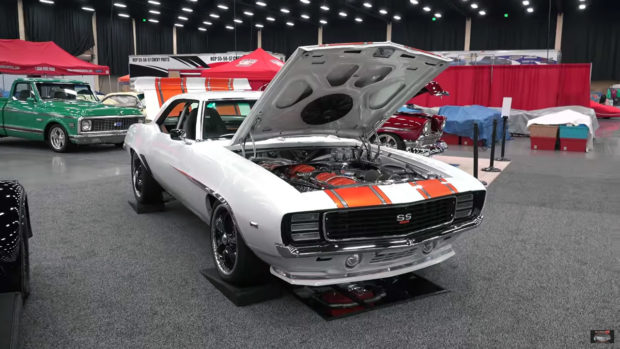 1969 Camaro with two LS7 V8 Engines