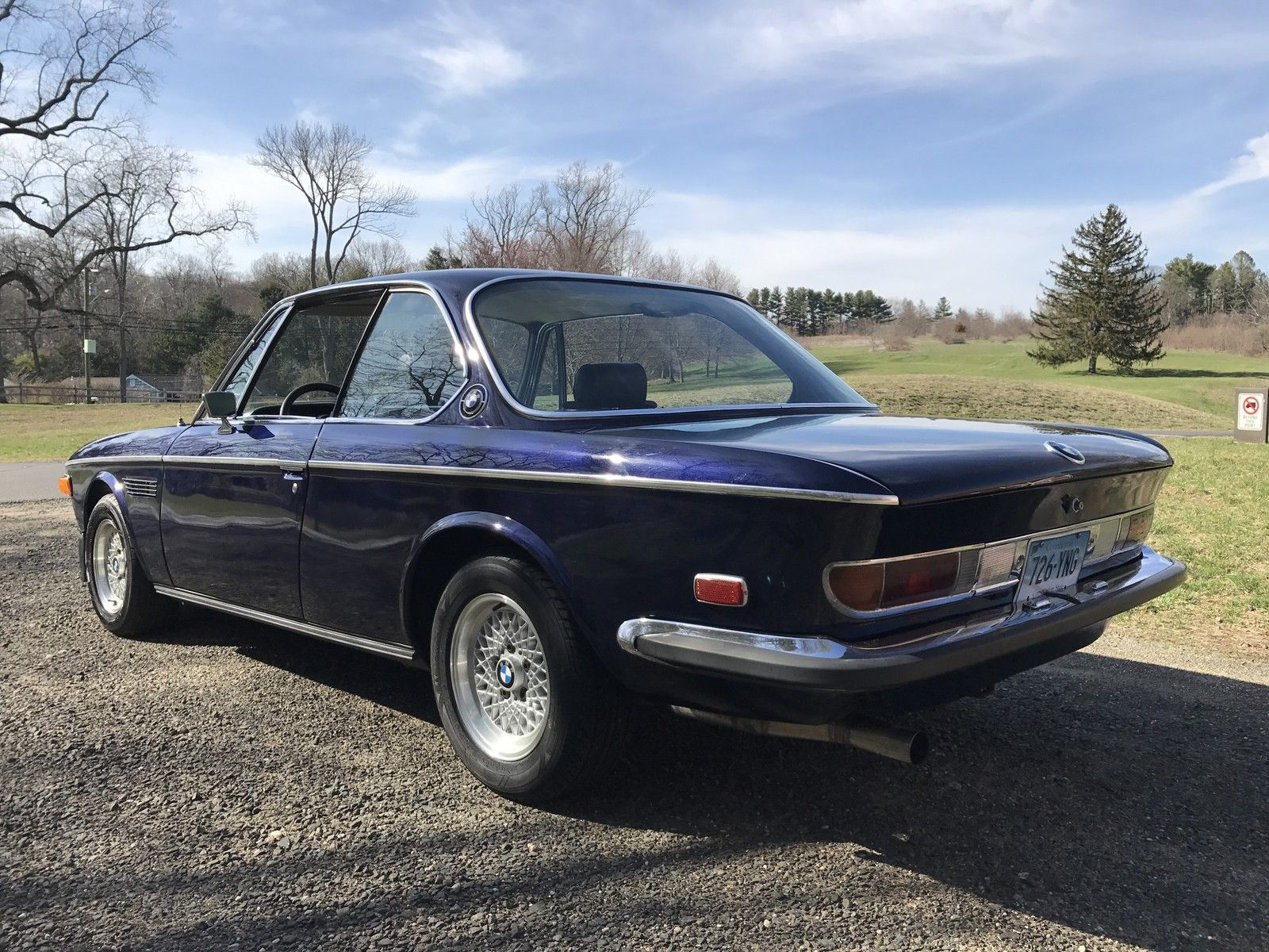 for sale 1971 bmw 2800 cs with a m90 inline six engine. Black Bedroom Furniture Sets. Home Design Ideas