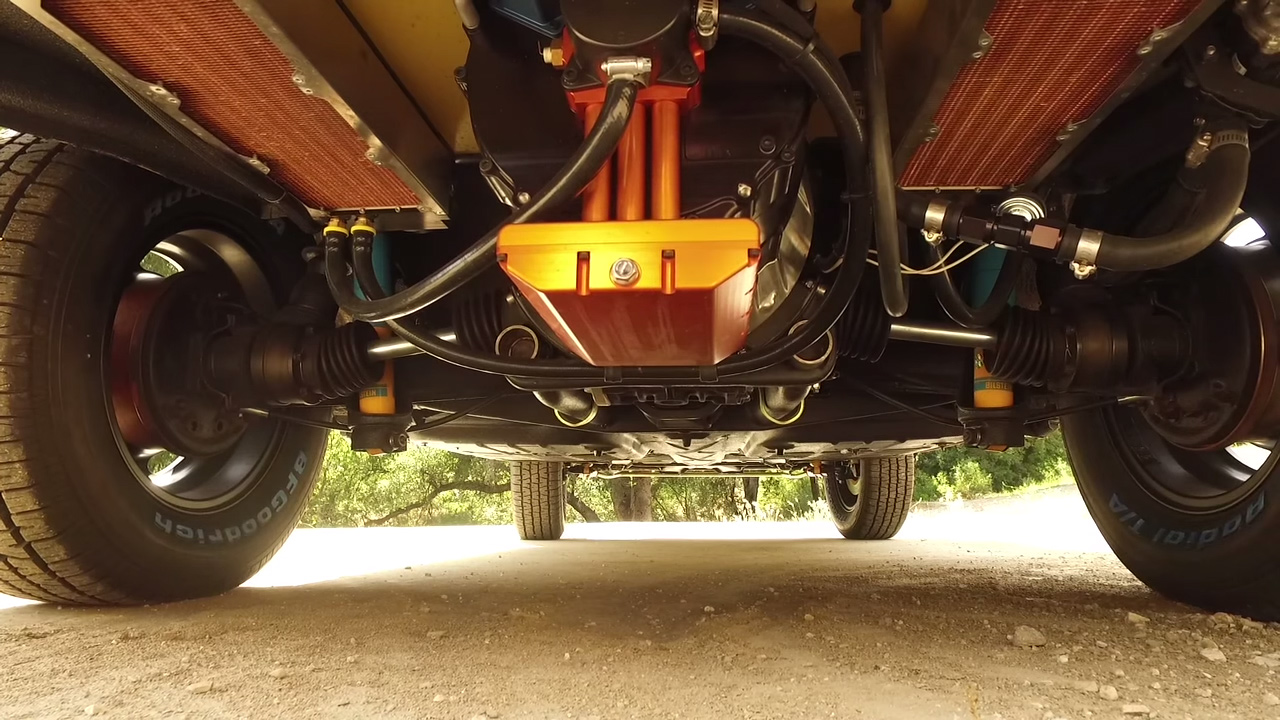 1973 Vw Thing With An Electric Motor Source Jonathan Ward