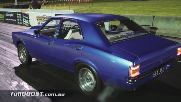 1974 Ford Cortina with a Turbo Barra Inline-Six