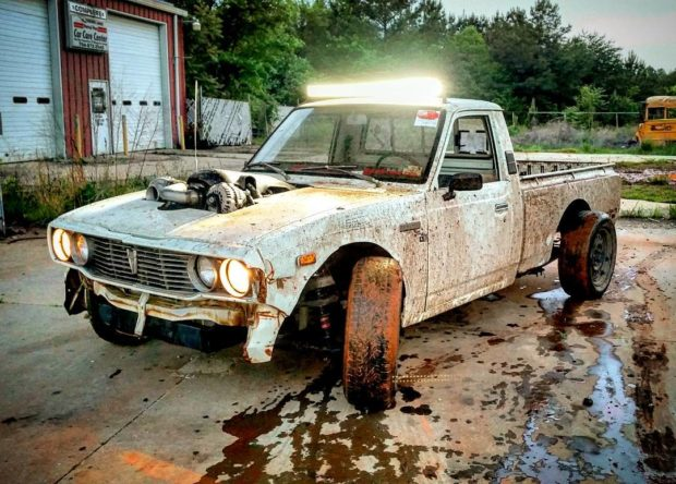 1977 Toyota Hilux with a Turbo LSx V8