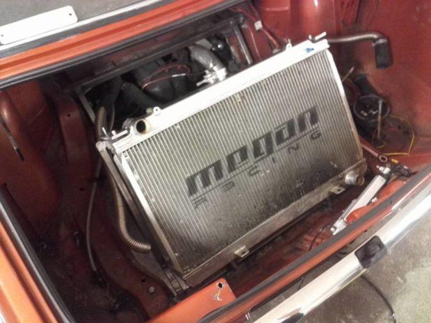 1979 Opel Kadett with a Turbo J35 V6